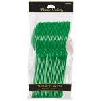 Festive Green Spoons - 12 PKG/20