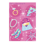 Princess Loot Bags    - 12 PKG/8