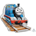 """Thomas & Friends SuperShape XL Foil Balloon 29""""/74cm w x 27""""/69cm h P38 - 5 PC"""