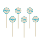 Blue Buffet Word Picks - 12 PKG/12