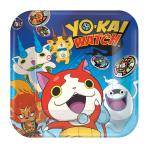 Yo-Kai Watch Paper Plates 23cm - 6 PKG/8