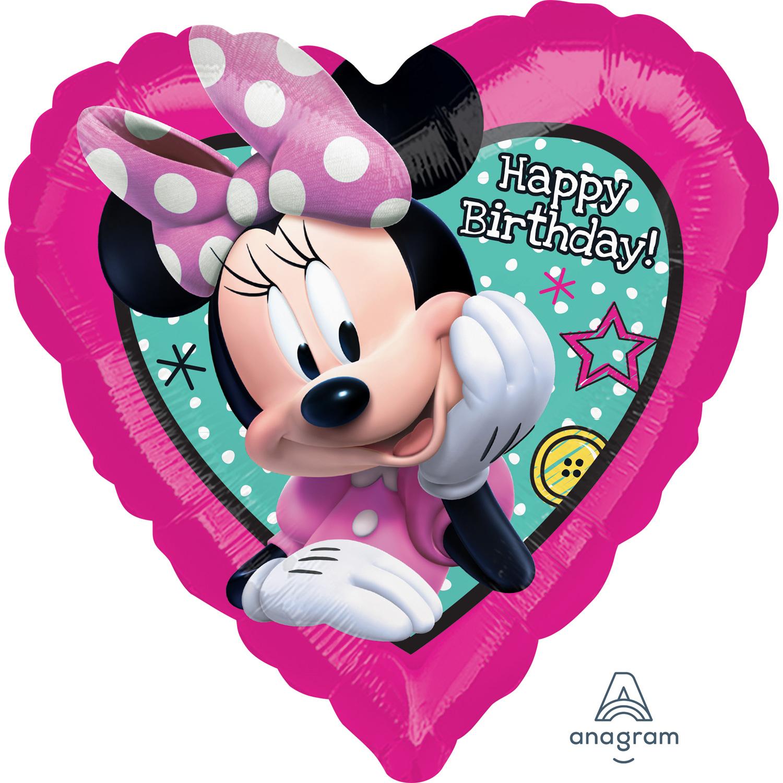 Minnie Happy Helper Standard Foil Balloons S60