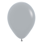 "Fashion Colour Solid Grey 081 Latex Balloons 12""/30cm - 50 PC"