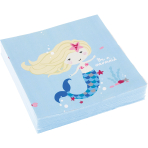 Be a Mermaid Luncheon Napkins 33cm - 10 PKG/20