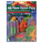 Prehistoric Mega Mix Value Favour Packs - 6 PKG/48