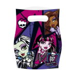 New Monster High Party Bags - 10 PKG/6
