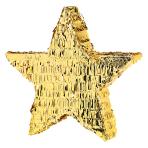 Gold Foil Star Pinatas - 4 PC