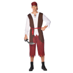 Pirate Pete Costume - Size S - 1 PC