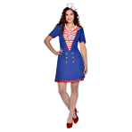 Sailor Lady Costume - Size 10-12 - 1 PC