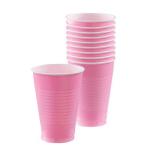 New Pink Plastic Cups 355ml - 10 PKG/10