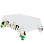 Moon and Me Plastic Tablecovers 1.8m x 1.2m - 6 PC