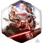 "Star Wars Episode 9 Rise of Skywalker SuperShape Foil Balloons 22""/55cm x 23""/58cm P38 - 5 PC"