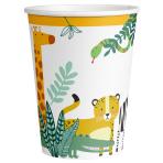 Get Wild Paper Cups 250ml - 6 PKG/8