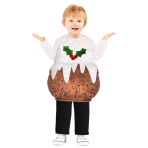 Christmas Pudding Costume - Age 8-10 Years - 1 PC