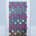 40th Birthday Door Curtains 2m - 6 PKG