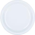 Clear Plastic Plates 18cm - 10 PKG/20
