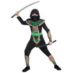 Children Dragon Slayer Ninja Costume - Age 6-8 Years - 1 PC