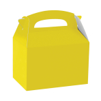 Sunshine Yellow Party Boxes - 75 PC