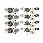 Gold Sparkling Celebration 100th Confetti 34g - 12 PC