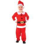 Boys Mr Santa Costume - Age 6-8 Years - 1 PC