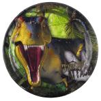 Dinosaur Attack Paper Plates 23cm - 10 PKG/8
