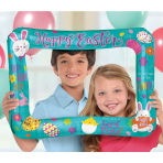 Easter Inflatable Foil Selfie Frames 45cm x 64cm S60 - 5 PC