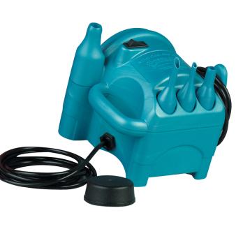 Premium Mini Cool-Aire Inflator & Foot Pedal (UK Plug) - 1 PC