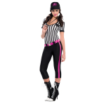 Adults Instant Replay Referee Costume - Size 8-10 - 1 PC