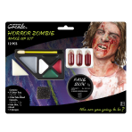 Horror Zombie Make Up Kit - 4 PKG/12