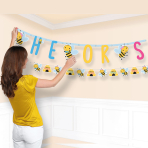 What Will It Bee? Combo Letter Banners - 6 PKG/2