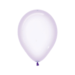 "Crystal Pastel Lilac 350 Latex Balloons 5""/13cm - 100 PC"