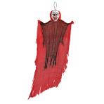 Red Hanging Creepy Clown 1.2m - 8 PC