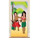 Photo Fun Hawaiian Door Posters 2m - 6 PC