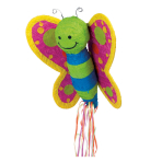 Butterfly Pull Pinatas - 4 PC