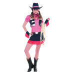 Adults Rawhide Cowgirl Costume - Size 10-12 - 1 PC