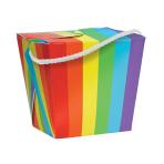 Rainbow Quart Pail 11cm h - 12 PC