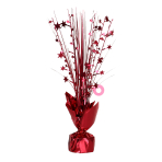 Apple Red Spray Centrepiece Balloon Weights 30cm/150g - 6 PC