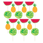 Fruit Salad Food Picks - 12 PKG/24