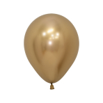 "Reflex Gold 970 Latex Balloons 5""/13cm - 50 PC"