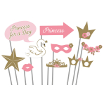 Princess for a Day Photo Props - 6 PKG/10