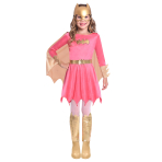 Batgirl Pink Costume - Age 10-12 Years - 1 PC