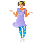 Rugrats Angelica Costume - Size 10-12 - 1 PC