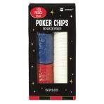 Casino Poker Chip Set - 6 PKG/150