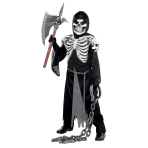 Teens Crypt Keeper Skeleton Costume - Age 12-14 Years - 1 PC