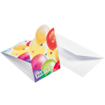 Balloon Fiesta Invitations - 10 PKG/8