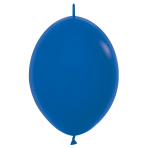 "Fashion Colour Link-O-Loon Solid Royal Blue 041 Latex Balloons 6""/15cm - 100 PC"