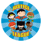 Justice League Paper Plates 23cm - 6 PKG/8