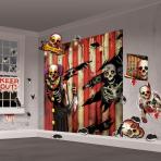 Creepy Carnival Scene Setters  - 4 PKG/32