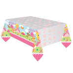 Woodland Princess Plastic Tablecovers 2.37m x 2.59m - 6 PC