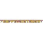 Fireman Sam Happy Birthday Letter Banner 1.6m x 13cm - 10 PC